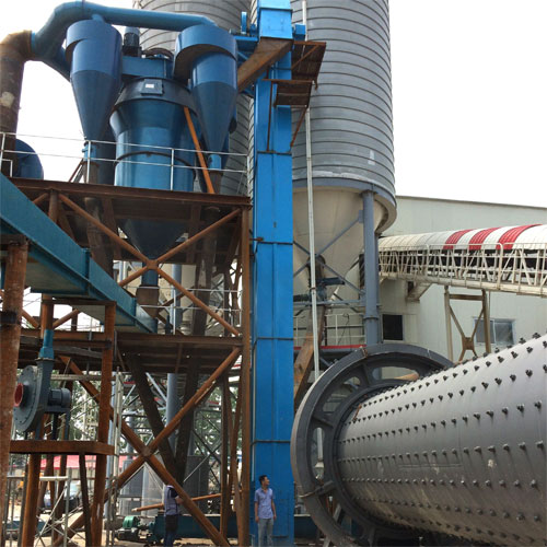 2.2 x11 + classifier of fly ash production line
