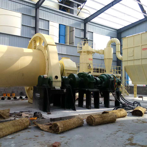 2.6 x9 ball mill + classifier silicon powder production line