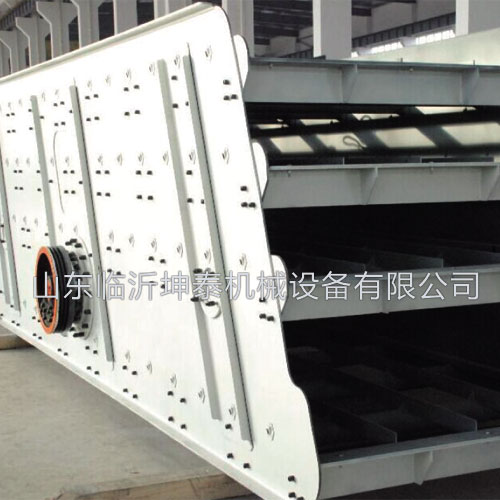 Summary of vibrating screen product use and the related parameters